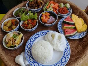 อาหารเลี้ยงพระถวายอาหารเพื่อสุขภาพ 3minutesfood